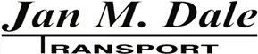 Massetransport i Nordhordland – Jan M. Dale Transport AS Logo