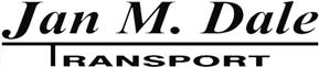 Massetransport i Nordhordland – Jan M. Dale Transport AS Logo